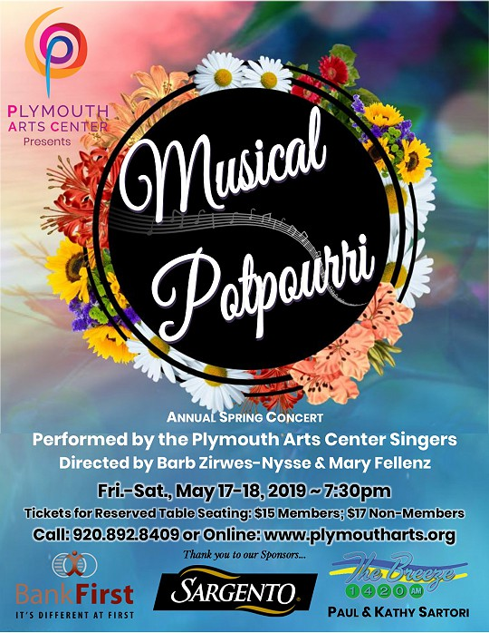 Musical Potpourri by the Plymouth Arts Center Singers