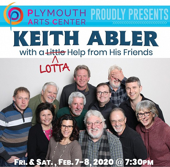 KEITH ABLER with a Little (Lotta) Help From His Friends