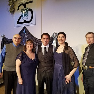 2018 Performing for the Plymouth Arts Center's 25th Anniversary Variety Show