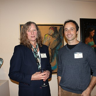 Artists Michelle Richeson and Patrick Burke