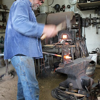Mark Mondloch: #18 Silver Creek Pottery & Forge W6725 Hwy 144, Random Lake, WI